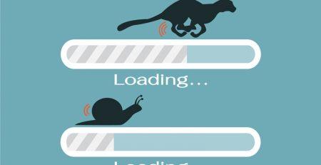 slower website
