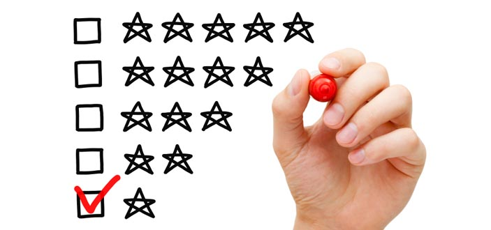 A one star rating - negative reviews do not have to be the end of the world