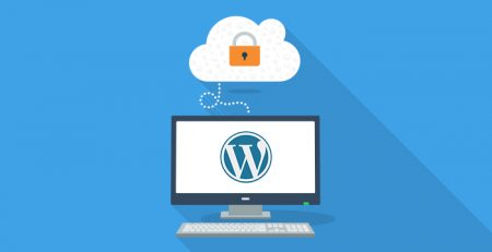 WordPress backup, computer backing up to the cloud